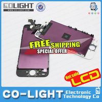 2015 for new order and Big discount wholesale cell phone accessory for iphone 5 lcd display