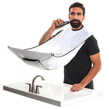 Plastic beard grooming shaving trimming catcher apron made in China