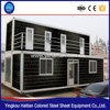 Shipping container gym prefabricated homes for sale prefab flat pack office house livable container
