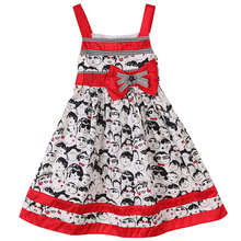 Bonny Billy Little <strong>Girl's</strong> Figures Printed Casual Summer Braces <strong>Dress</strong> 3-11 Years