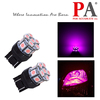 PA Super Bright 13 SMD 5050 LED Pink Color with 7443 7440 T20 base for Auto Car Tail Light Bulbs