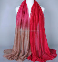 gradient cotton long spanish flamenco manton shawl