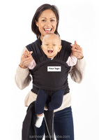Ultra Soft Infant Sling Child Carrier Keeps Your Baby Comfortable & Safe - 4 Different Carries - Cotton/Spandex Stretchy Wrap