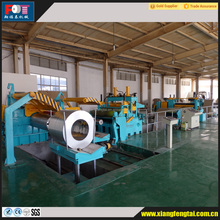 China steel coil slitting line machine manufacturer produced high precision semi-automatic/fully automatic slitting line