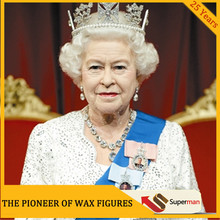 The famous political Elizabeth II silicone sculpture