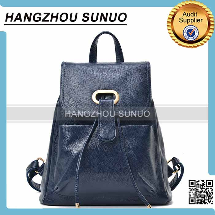 High Quality Travelling Waterproof Pu leather Backpack