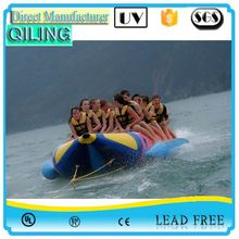 Commercial adult carzy game funny mantaray inflatable flying boat price