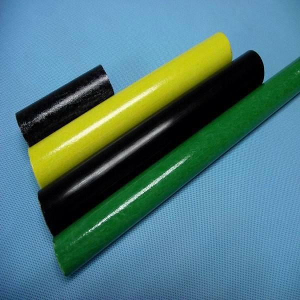 Frp grp fiberglass rod or tube colourful
