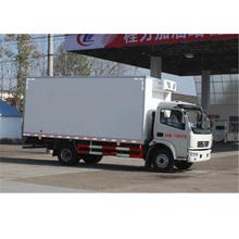 Dongfeng insulation body van truck