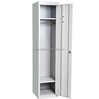 Competitive price one tier single door steel locker cabinet/cheap steel almirah cabinet/Stainless steel laundry locker