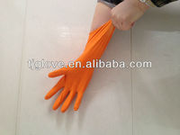 Natural Rubber Glove/cleaning Ruber glove/latex household glove
