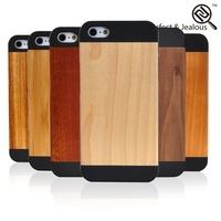 new products 2015 innovative product Custom logo cheap wood cover case for iphone 5s
