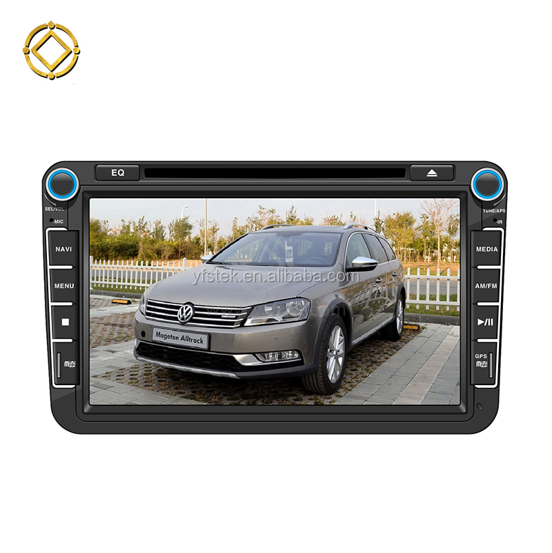 "8"" 2 din VW PASSAT B7 android 8.0 car DVD Player with Bluetooth,Radio,GPS,Ipod,SWC,Wifi,PIP,3D UI"