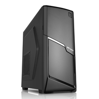 SAMA plastic gaming best full atx tower computer case