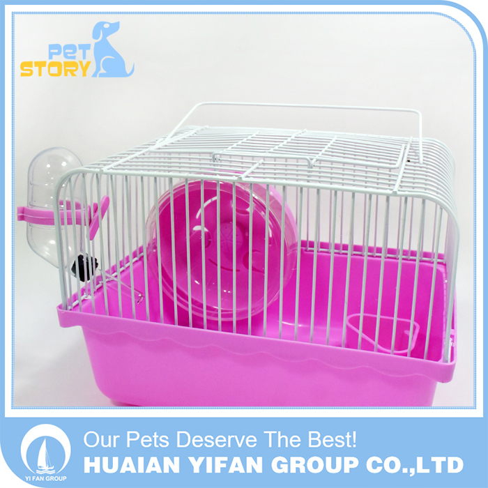 Hamster plastic house small pet display cage for small animal for sale