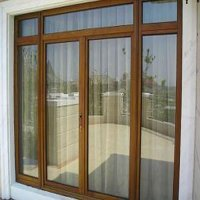 pretty pvc interior door design (casement door,water and sound insutlation)