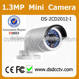 DS-2CD2012-I ip camera power line supported hikvision mini ir bullet camera