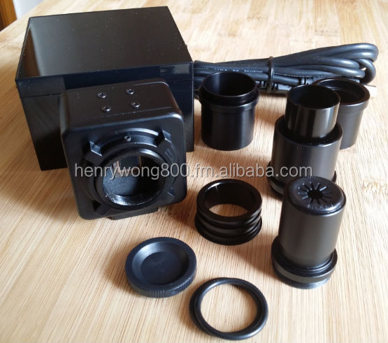 1.3MP USB2.0 Digital Eyepiece for Microscope and Telescope with 10X Eyepiece, Large Field of View