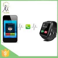 New product low cost watch mobile phone hot sale China internet watch phone