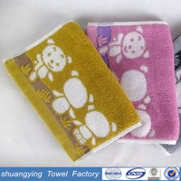 stocklot made in china hot sales yarn dyed baby towels