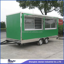 2015 Shanghai new-designed mobile fast food truck for sales!!!