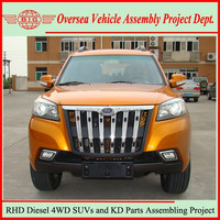 China New Diesel 4x4 Right Hand Drive SUV Cars