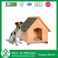 garden Customize large wood dog house