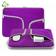 "Portable Slim Neoprene Soft Sleeve Case Bag for 13 -13.3"" Inch Laptop, Ultrabook Netbook Cover for Carrying Protector"