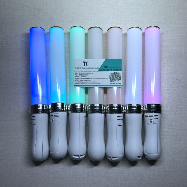 Factory price concert promotional 15colors flashing CE RoHS LED stick