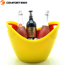 clear custom party wine boat-shape ice bucket