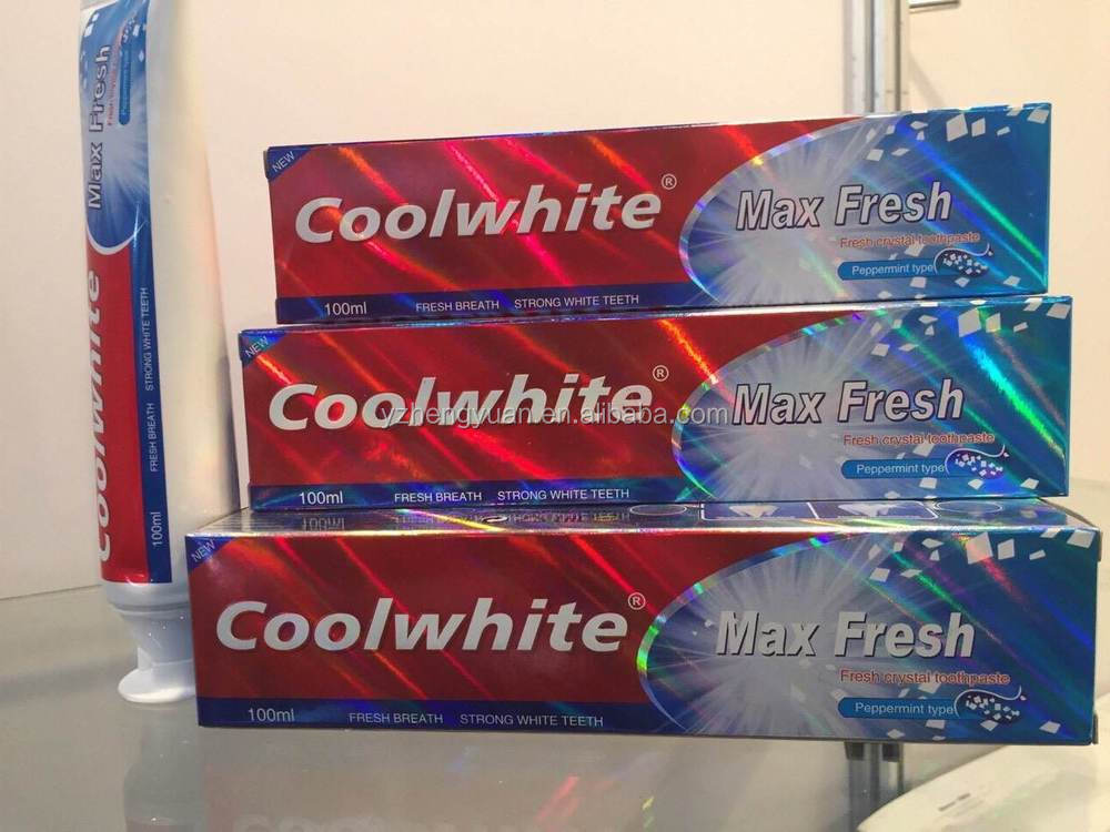 2015 new design100ml mint flavor anti-cavity toothpaste