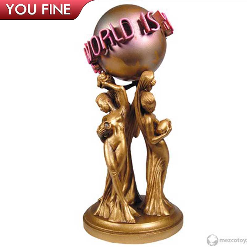Full Size the World Is Yours Bronze Statue for Sale