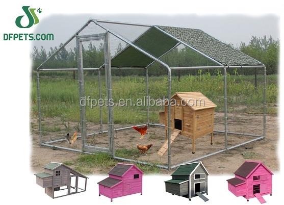 Dog Kennel DIY Box Kennel Pet System, Run for Chicken Coop, Hens
