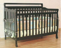 3 IN 1 WOODEN BABY CRIB