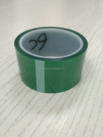 PET high temperature resistant tapes without any remains on glass