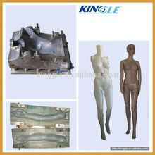 Plastic hollow mannequin blow mold in Ningbo