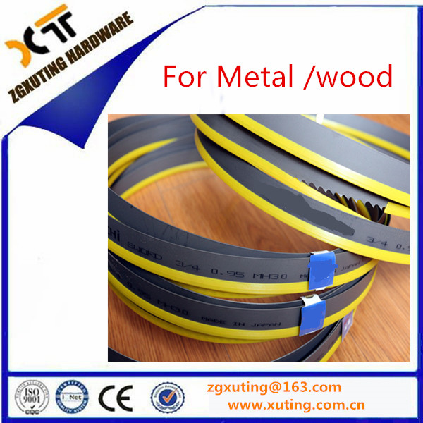 Wholesale 2/3 3/4 4/6 tpi Bi-metal Band Saw Blades for Cutting Metal