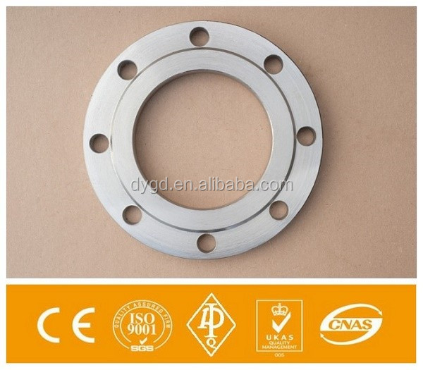 Carbon Steel p250gh ASME B16.5 Square Handrail Floor Flange
