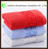 Wholesale 100% cotton hotel hand towel, Red,Blue,Grey,Embroider face towel,towel manufacturerGVBT7705