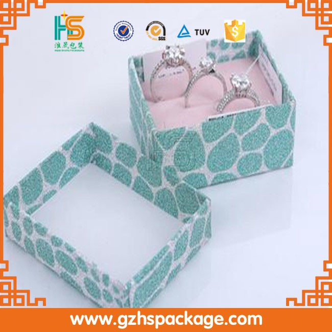 paper jewelry gift box cardboard jewellery packaging box (777)