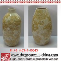 indoor decorative alabaster vase
