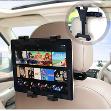 Universal Car Back Seat Tablet Stand Headrest Mount Holder for iPad tablet TZ01+P2