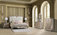 Antique style hotel bedroom furniture set XYN483