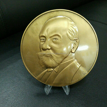 custom coins no minimum in metal crafts, fake gold with 3D design