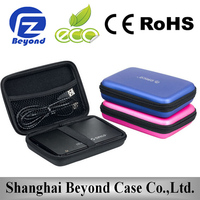 Wholesale waterproof EVA PU external hdd case 2.5""