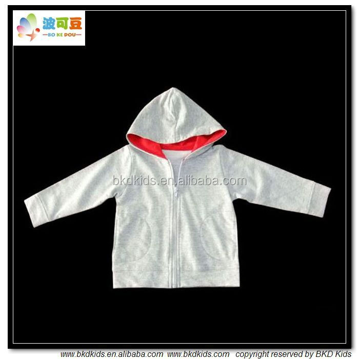 BKD2015 new arrival organic cotton toddler jacket