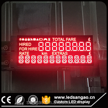 Full color high quality/highlight/heat resisting Custom LED display in any shape