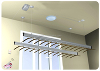 electric ceiling clothes drying rack,automatic clothes drying rack,telecontrolled electric clothes drying rack