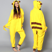 wholesale winter women onesie Anime pikachu pajamas animal onesie couple onesie