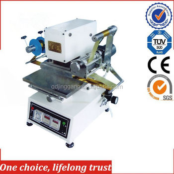 TJ-74 Desktop electric hot stamping machine for small business